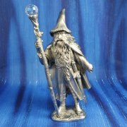 Gandalf with Crystal on Staff