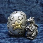 Retired Courage Magical Dragon Egg