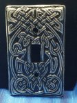 Celtic Hearth 1-Gang Single Toggle Midsize Light Switch Plate