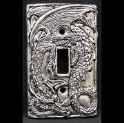 Dragon Single Toggle Light Switch Plate Cover