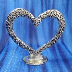 Celtic Pewter Cake Topper